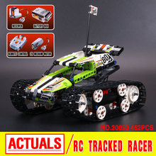 2017 New LEPIN 20033 397Pcs Technic Radio Controlled Tracked Racer Model Building Kits Blocks Bricks Toys Gift 42065