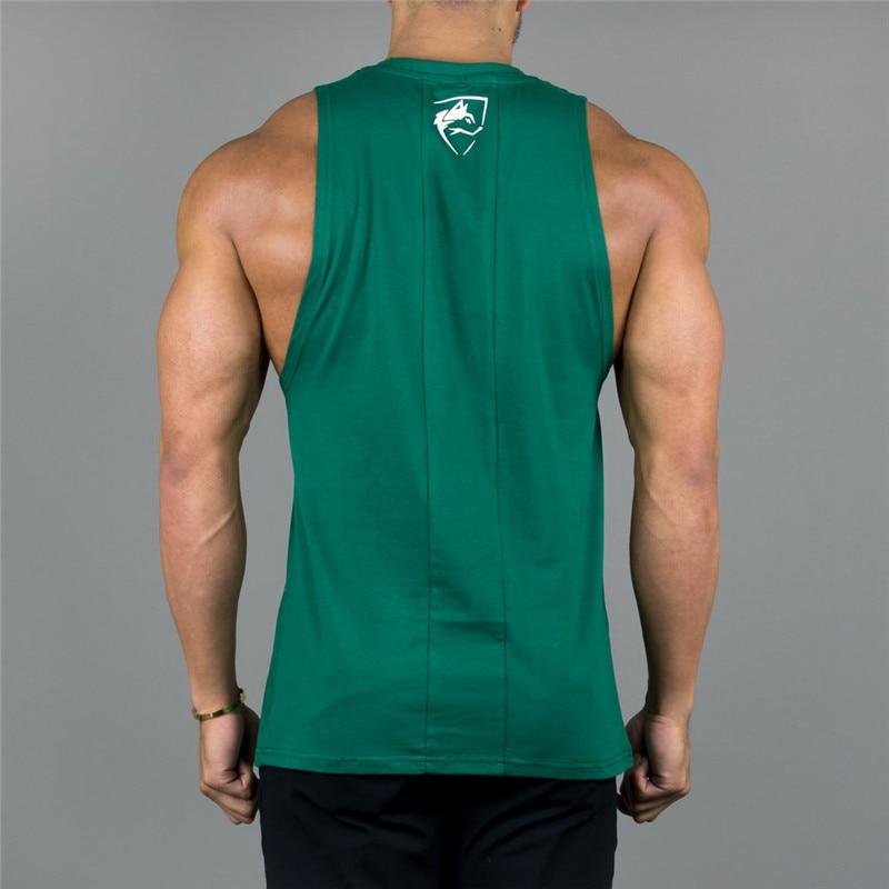 5191f3b5762df Mens Tank Top 2018 ALPHALETE Gyms Fitness bodybuilding Workout Crossfit  Brand Clothing Cotton Sleeveless Shirt Jogger