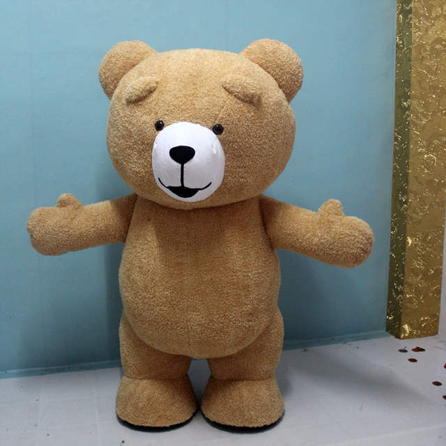 c2c124b2fc3 placeholder Mascot Bear Inflatable Costume Customize Adult Suitable For Teddy  Bear Mascot Costume Animal Costume Brown Color