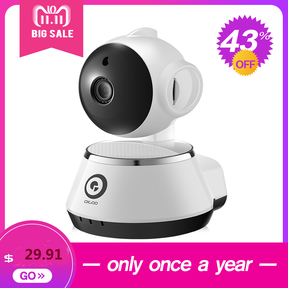 Digoo DG-M1Z 960P SHARK 2.8mm 5.0MP Lens Super Ultra Clear Wired Wireless Security Wifi IP Camera Baby Pet Home Office Monitor dg home 21 см baby bird dg d 811b