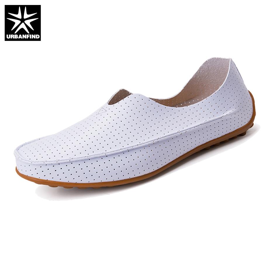 URBANFIND Nuevo Verano Zapatos Hombres Mocasines Suave Y Cómodo Tamaño Grande 39