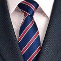 Hombre de La Moda de Nueva Dot Corbatas Hombre de Poliéster Corbata De Seda Del Banquete de Boda Formal Novio Casual de Negocios para Los Hombres