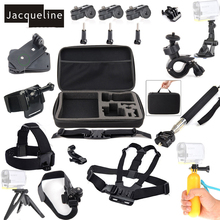Jacqueline per la Bici Accessori kit per Sony Action Sport Telecamere HDR AS10 AS20 AS15 AS30V AS100V AS200V AS50 AZ1 X100V/ W 4 K