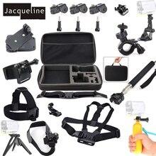 ז קלין עבור אופני ערכת אביזרי עבור Sony פעולה ספורט מצלמות HDR AS10 AS20 AS15 AS30V AS100V AS200V AS50 AZ1 X100V/ W 4 K
