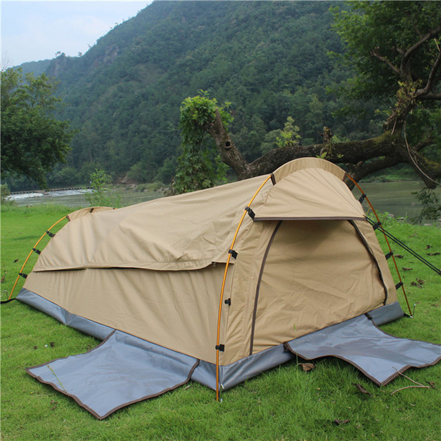 Wnndieo Single Person Tent Personal Bivy Tent. Lightweight Backpacking Tent & Wnndieo Single Person Tent Personal Bivy Tent. Lightweight ...