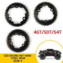 GDS Balap Steel Spur Gear 46 T/50 T/54 T Tooths RC Rakasa Truk Traxxas X-MAXX 1/5 gear Shift Mainan Remote Control Ban Aksesoris(China)