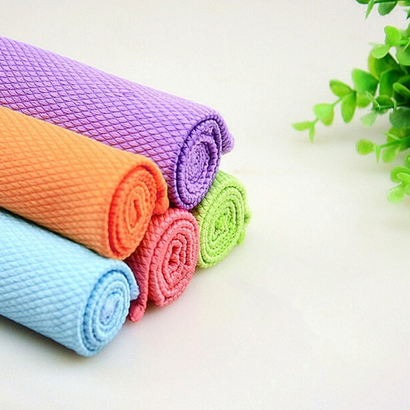 Towels & Washcloths Paquete De Paños Toallas De Limpieza Estropajo Algodón Poliéster Color Rosado Bathing & Grooming