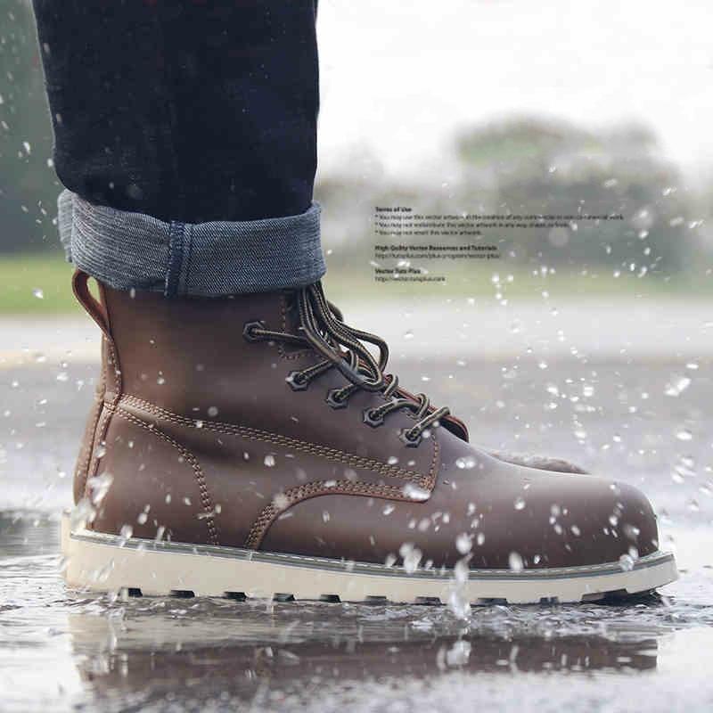 Inghilterra uomini di modo più il formato traspirante puntale in acciaio Cappellini scarpe di sicurezza sul lavoro del costruttore magazzino lavoratore vestito da cowboy di sicurezza stivali-in Scarpe anti infortunistiche da Scarpe su  Gruppo 3