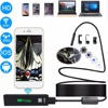2M Hard Wire Wifi Endoscope Camera 1200P 8mm For Iphone Android Windows MAC Borescope Waterproof IP68