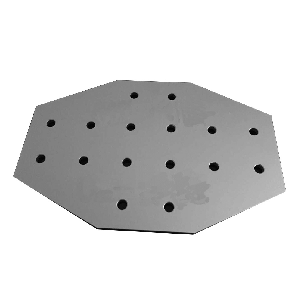 1PCS 16 hole 6060/8080 cross type 90 Degree Joint Board Plate Corner Angle Bracket Connection Joint for Aluminum Profile цена