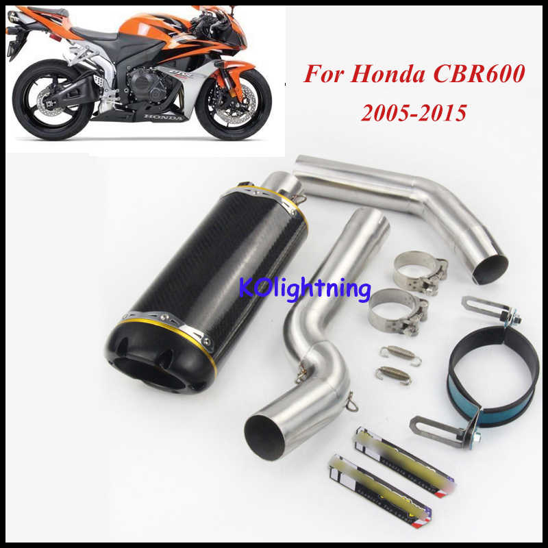 Detail Feedback Questions About Slip On Cbr600rr Motorcycle Exhaust