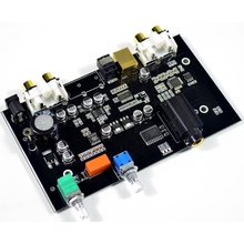 PCM5100 Digital to Analog Converter USB Optical fiber RCA DAC Decoding board 96KHZ headphone amplifier For PC TV Amplifier