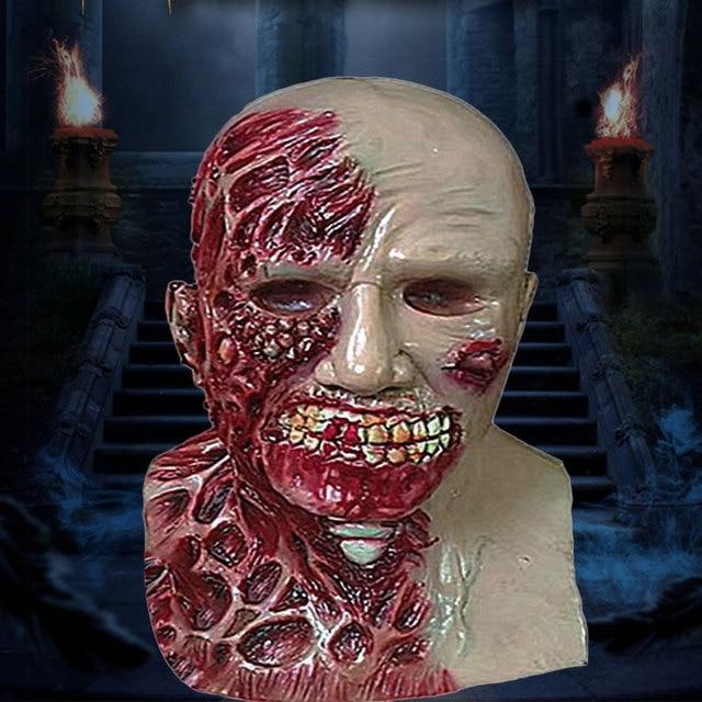 Halloween Latex Masque Horreur Effrayant Airsoft Masque Zombie