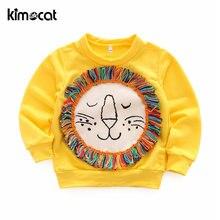 Kimocat Весенняя и осенняя одежда для маленьких девочек хлопковая