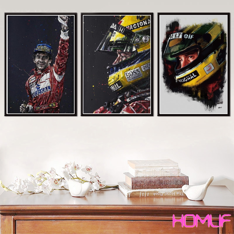diamond painting Ayrton Senna F1 Legend Champion Race Car diamond embroidery cross stitch diamond mosaic rhinestones pictures