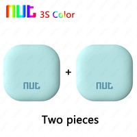 2 Pieces New NUT Color 3s 2s Smart Tag Wireless Bluetooth Tracker Bag Wallet Pet Key