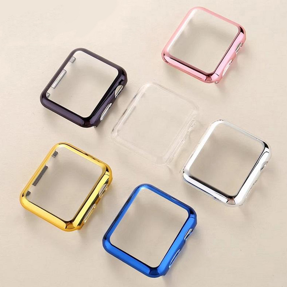 Case For Apple Watch Band Apple Watch 4 5 Case 44mm/40mm Strap Iwatch 3 Band 42mm 38mm Screen Protector Watch Accessories