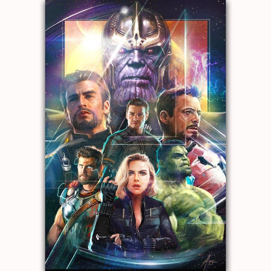 E014 Art Avengers Infinity War Movie Iron Man 004 Light