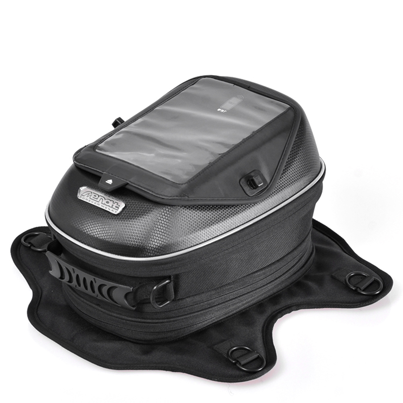Universal Motorcycle Tank Bag Magnetic Motorbike Oil Fuel Tank Bags for KAWASAKI Z1000 Z750 2004-2006 NINJA ZX6R ZX636 2003-2004 for harley yamaha kawasaki honda 1 pair universal motorcycle saddle bags pu leather bag side outdoor tool bags storage undefined