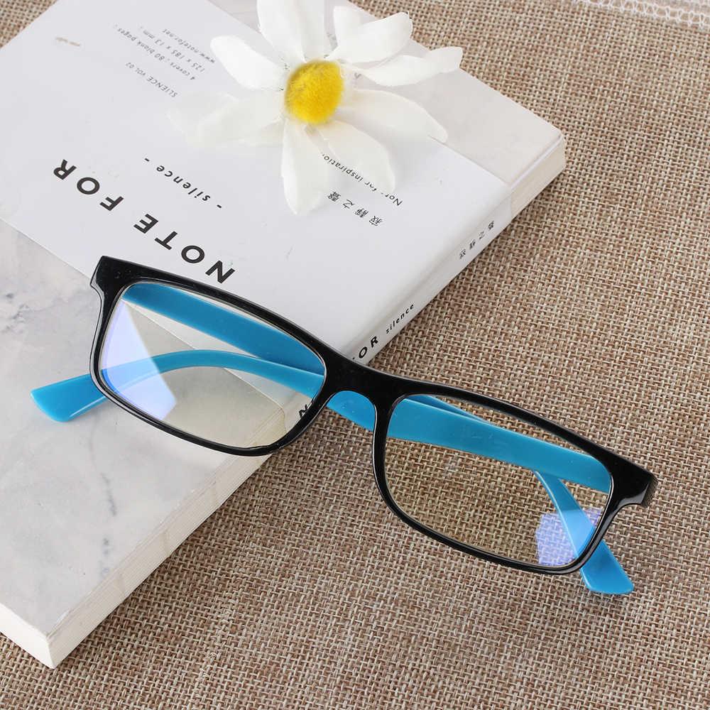 1PC Blue Lightแว่นตาAnti Blueรังสีแว่นตากันแดดผู้ชายผู้หญิงแว่นตาคอมพิวเตอร์Anti-UV UV400 กระจกแบนแว่นตา
