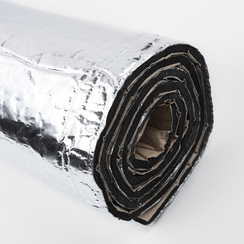 1 roll Auto Car Firewall Heat Shield Mat Insulation Sound Deadener Aluminum Fiber Muffler Cotton for exhaust muffler turbo pip
