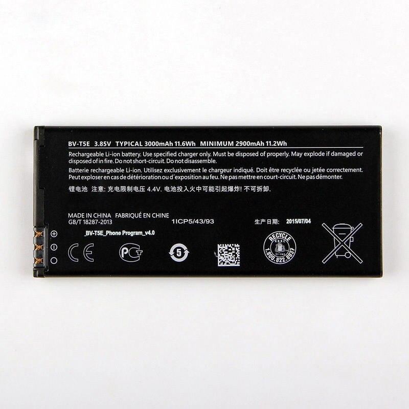 Бесплатная доставка Высокое качество 100% новый Батарея bv-t5e для Microsoft <font><b>Lumia</b></font> <font><b>950</b></font> rm-1106 rm-1104 RM-110 МПЮП
