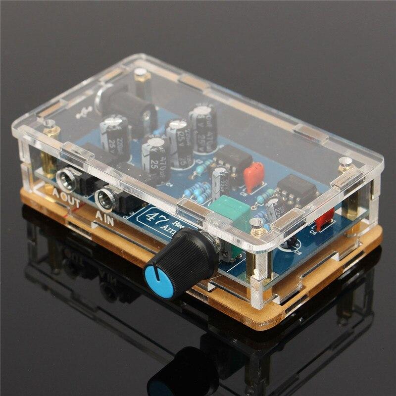 Один Питание Портативный HIFI усилитель печатной платы AMP DIY Kit для DA47 наушники аксессуары для электронных Запчасти