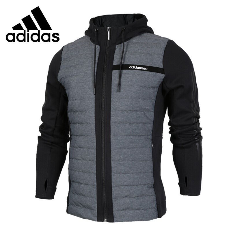 Оригинальный Новое поступление Adidas NEO Label CS HYBD HD JK для мужчин пуховое пальто пеший Туризм подпушка Спортивная
