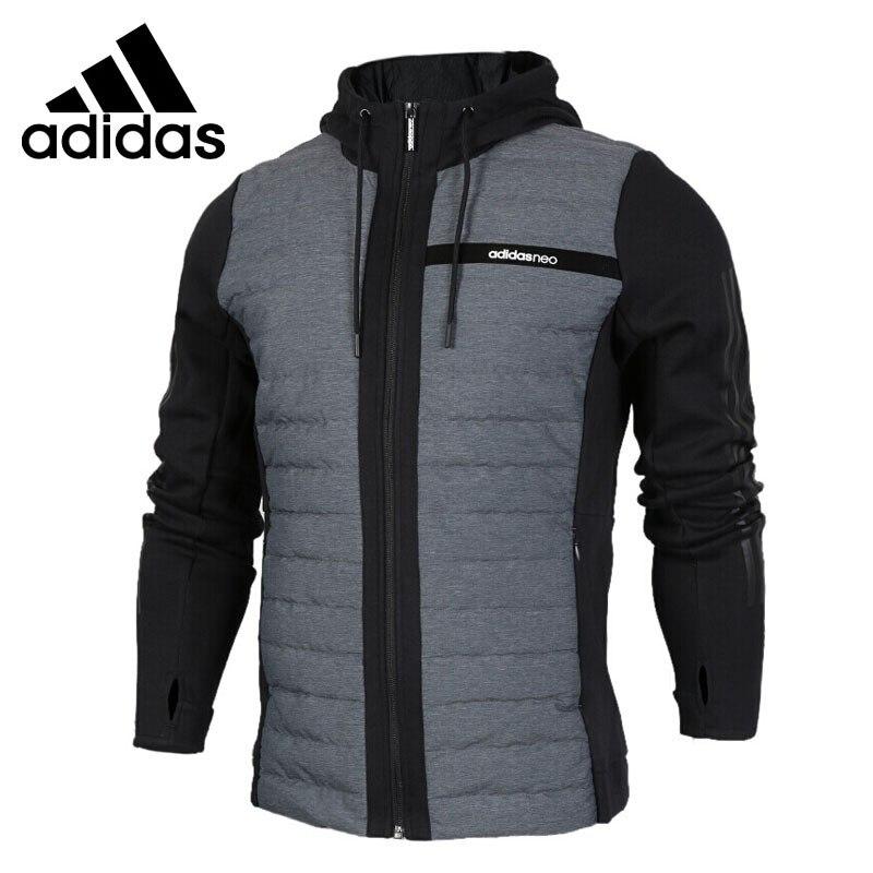 Original Nouvelle Arrivée Adidas NEO Étiquette CS HYBD HD de JK Hommes Vers Le Bas manteau Randonnée Vers Le Bas de Sport