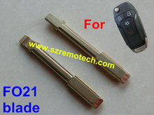 Free shipping 50pcs/lot Flip Remote Key Blade FO21 key blade Fit For Ford Fiesta Mondeo C-max car key