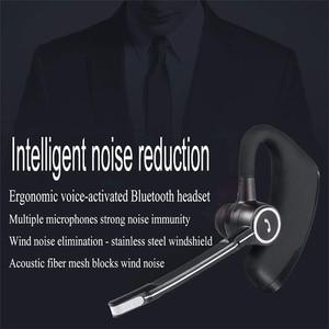 Image 5 - MEUYAG V8S עסקים Bluetooth אוזניות אלחוטי אוזניות רכב Bluetooth V4.1 טלפון דיבורית אוזניות עם מיקרופון עבור iPhone Xiaomi