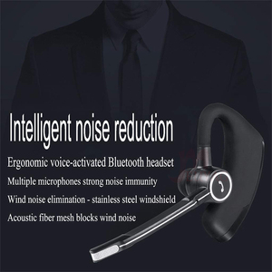 Image 5 - MEUYAG auriculares V8S inalámbricos por Bluetooth para coche, auriculares manos libres con micrófono para iPhone y Xiaomi
