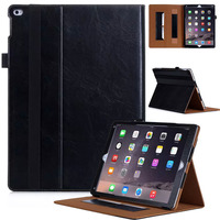 For IPad Pro Case Folio Premium PU Leather Stand Case Cover With Auto Wake Sleep Feature