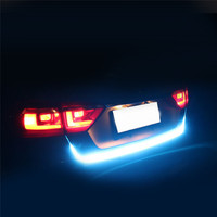 Universal Tail Stop Light Led Strip Motorcycle Led Tail Light Turn Signal Brake License Plate Strip