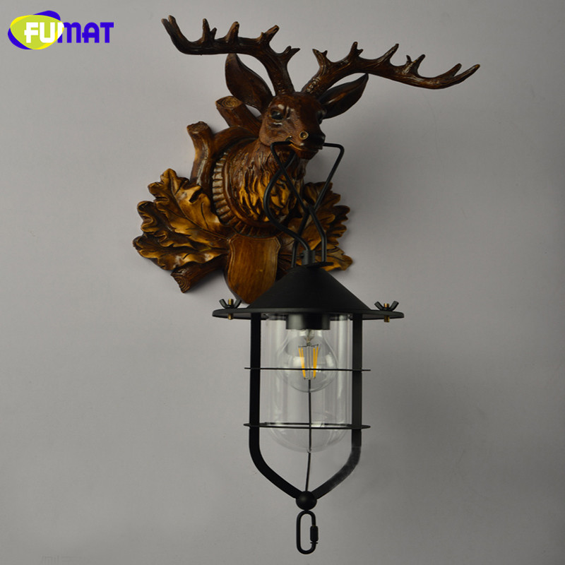 Deer Head Wall Lamp 18