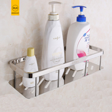 купить Stainless Steel Bathroom Shelf Shower Shampoo Soap Cosmetic Shelves Bathroom Accessories Storage Organizer Rack Holder дешево