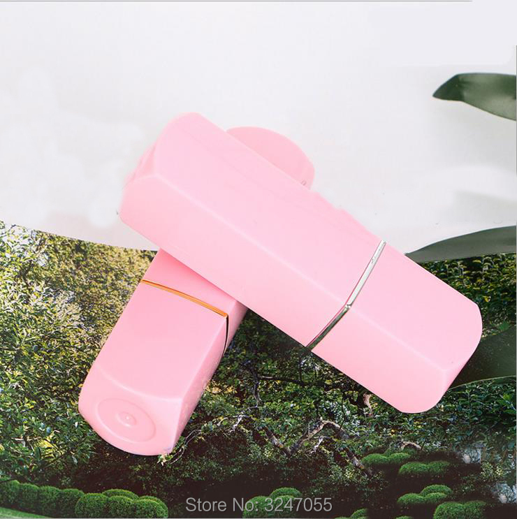 12.1mm Plastic Cosmetic Lipstick Tube, Professional Lip Beauty Tools,DIY Pink Elegant Square Lip Balm Storage Bottle, 30pcs50pcs