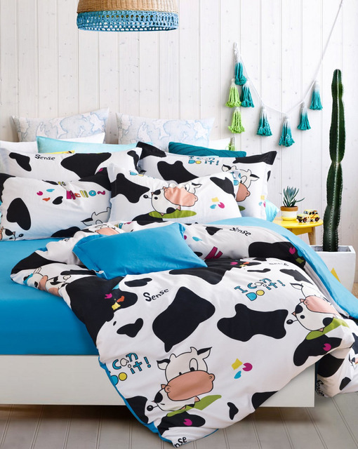 cow duvet cover white and black bed sheets blue bed sheets hello kitty scooby doo bedding - Scoobydoo Bedding