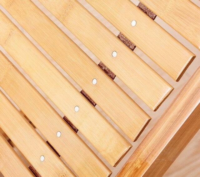 Foldadble Bamboo Garden Chair  5