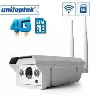 4G 3G SIM Card Wireless WIFI IP Camera Outdoor 720P 1080P SD Card Video Record IR
