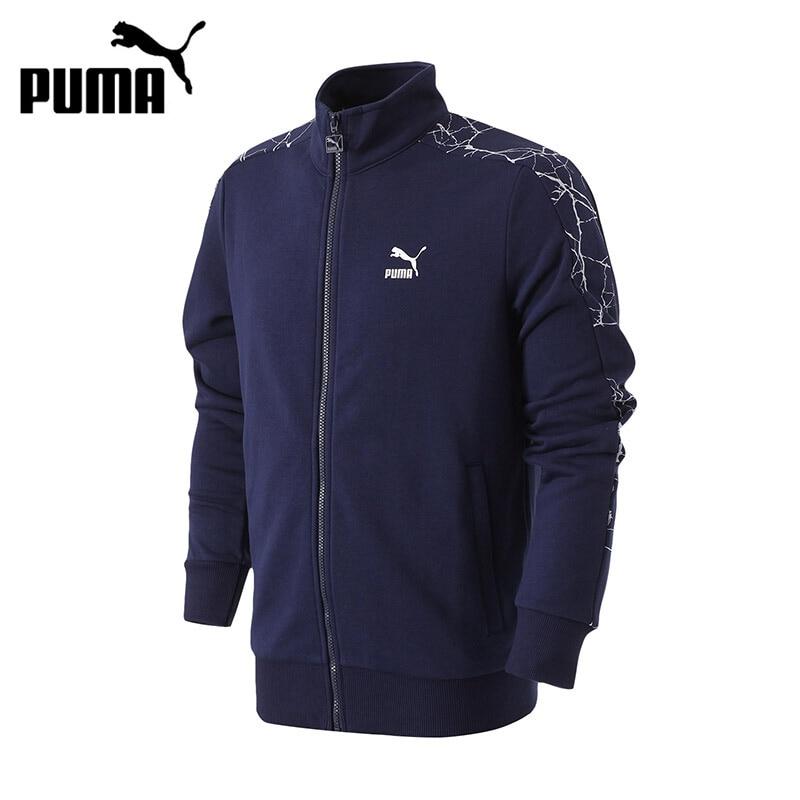 Original New Arrival PUMA Archive Graphic AOP T7 Track Jkt TR Men's jacket Sportswear original new arrival 2017 puma archive logo t7 pant women s pants sportswear
