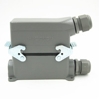 HDC HE 024 3 Heavy Load Connector 24 Core 16A Rectangle High Pin Ming Heat Flux Avenue Plug