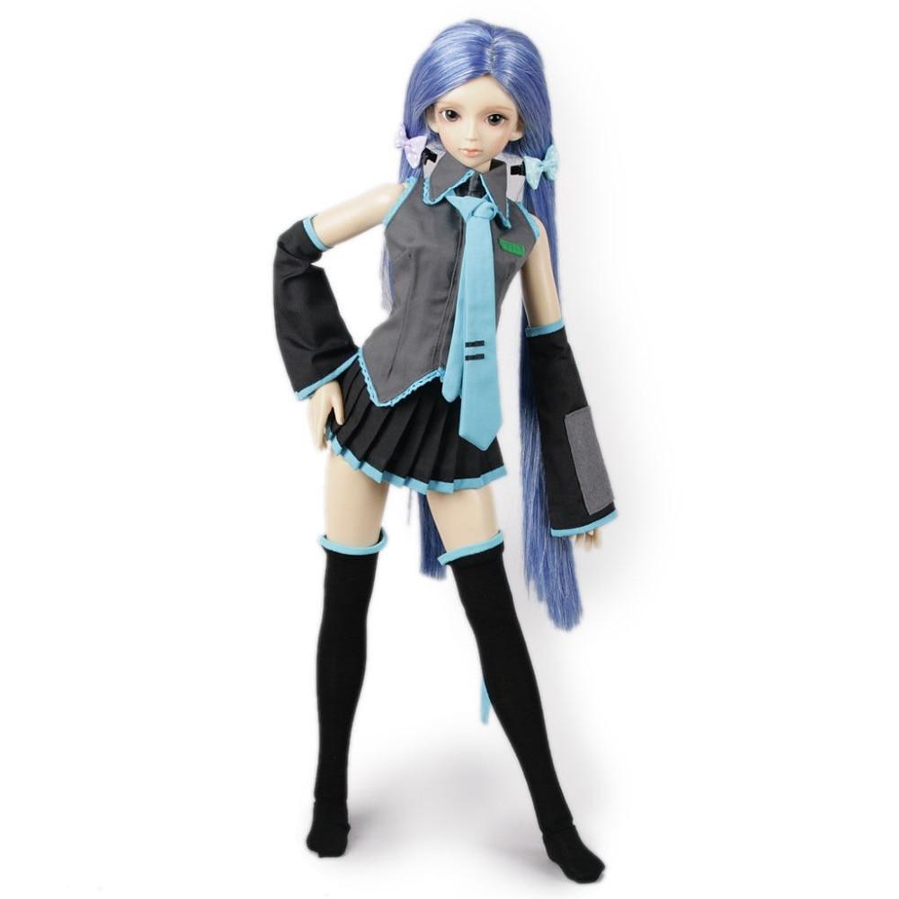 wamami 251 Vocaloid Hatsune Miku Uniform Suit 1 3 SD AOD DOD DZ BJD Dollfie