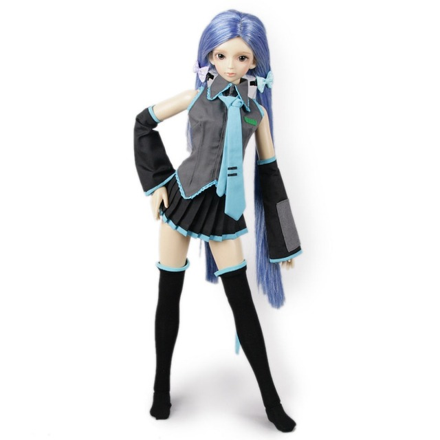 [wamami] 251# Vocaloid Hatsune Miku Uniform Suit 1/3 SD AOD DOD DZ BJD Dollfie