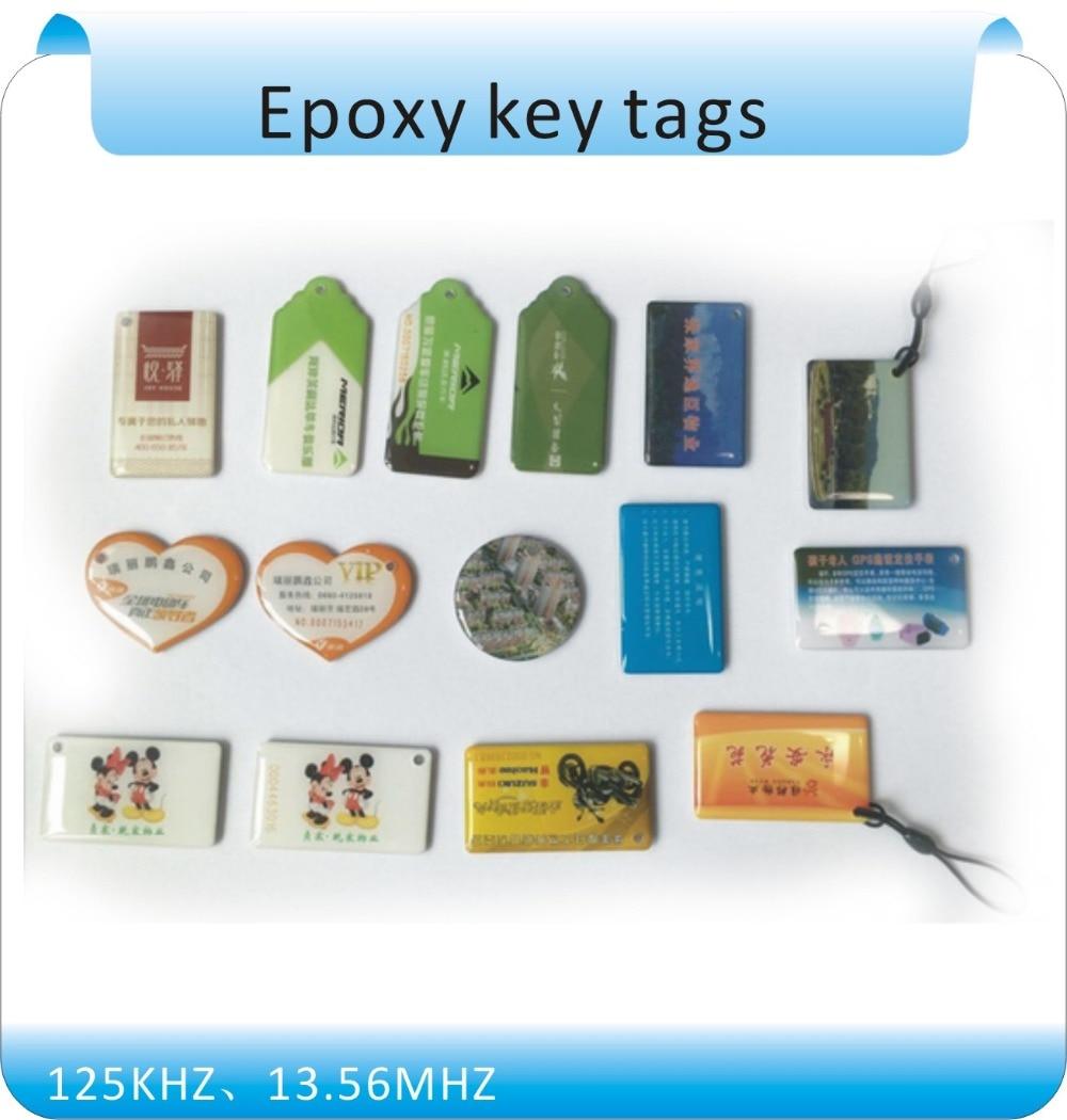 Free shipping  10 pcs Epoxy Card /Epoxy key tags NFC logo printed 13.56mhz rfid tag keyfobs(Compatible with s50) ns novelties kinky camo стек оригинальной формы