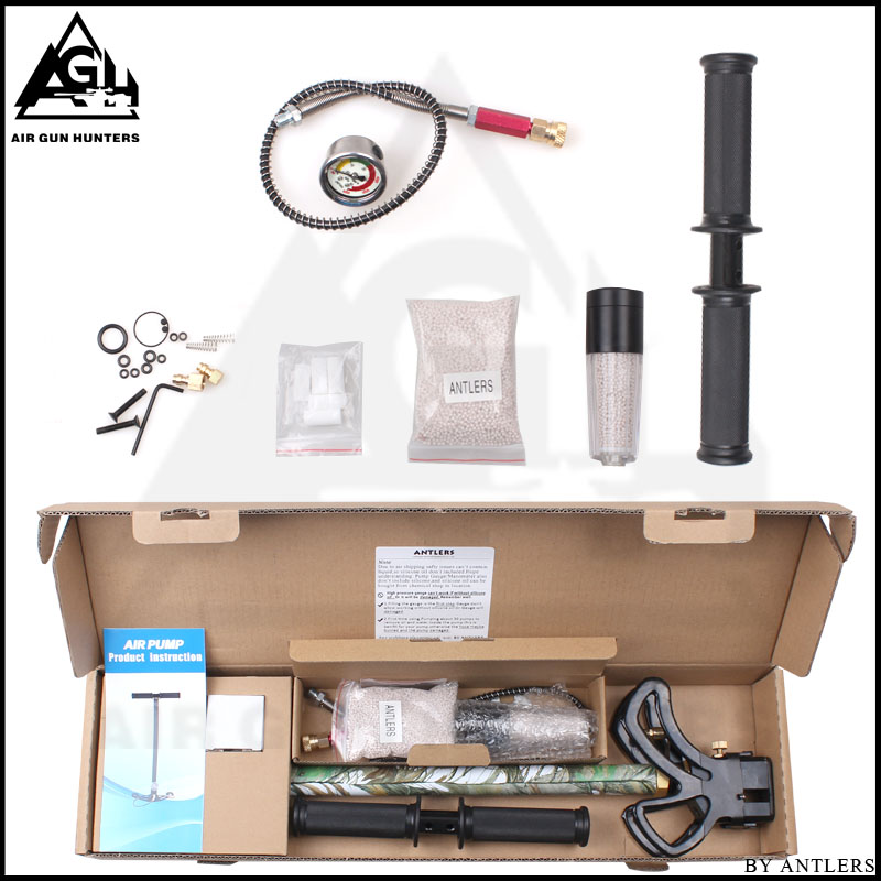 Image 5 - 4500PSI PCP Pump Airgun air Rifle High Pressure Pcp Hand Pump with Air filter 40Mpa Gauge airsoft Paintball pump Stainless Steel-in Paintball Accessories from Sports & Entertainment