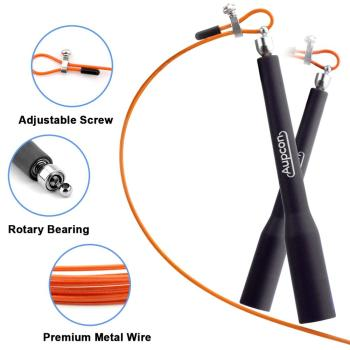 3 meters metal ball bearing adjustable training speed jump exercise rope sport skipping fitness equipment home gym drop shipping Speed Jump Rope Ball Bearing Adjustable Training Sport Skipping Rope Fitness Equipment  Fitness Skip Workout Training