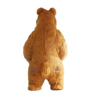 Image 3 - New Arrival 2M 2.6M 3M Inflatable Bear Costume For Advertising Customize Bear Inflatable Mascot Halloween Costume For Adult
