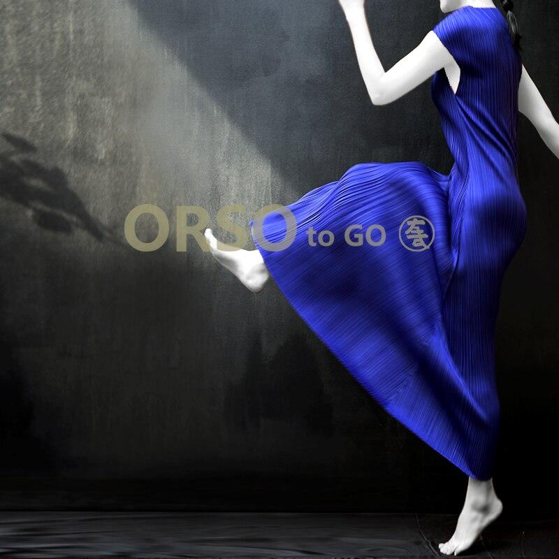 Kobiety lato czarna długa sukienka linia z krótkim rękawem Casual plisowane sukienki kobiety plaża wieczorne Party Vestidos Feminina sukienka w Suknie od Odzież damska na  Grupa 2