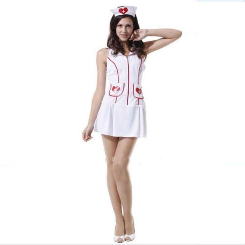 Halloween Performance Costumes Promotion Pretty Nurse Professional Attire Uniform Cosplay Costume